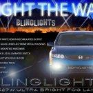 2006 2007 2008 Honda Civic Coupe Fog Lamps Lights Kit DX LX EX EX-L Si xenon Foglamp Foglight