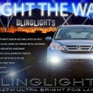 2010 2011 Honda CR-V Xenon Halogen Fog Lights Driving Lamps Kit
