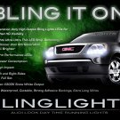 GMC Acadia LED DRL Head Light Strips Day Time Running Lamps Set