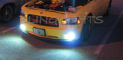 Dodge Charger Xenon HID Fog Lamps Driving Lights Kit 2006 2007 2008 2009 2010 2011 2012 2013 2014