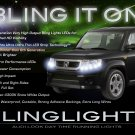 Honda Element LED DRL Head Light Strips Day Time Running Lamp Kit