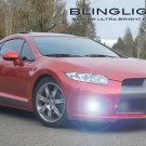 BlingLights Fog Lights Kit for 2006 2007 2008 Mitsubishi Eclipse