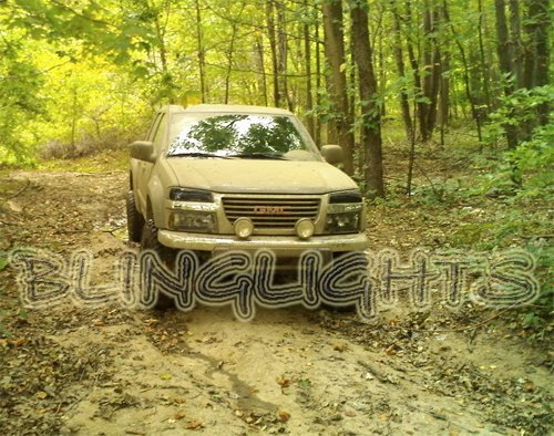 Chevrolet Colorado Off Road Driving Lamps Bumper Bar Light Kit Chevy