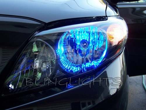 Toyota Corolla 10000K Blue LED Head Lamp Light Bulbs Replacement Upgrade