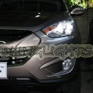 Hyundai Tucson ix35 HID Simulated Head Lamp Light Bulbs Xenon White Replacement Upgrade