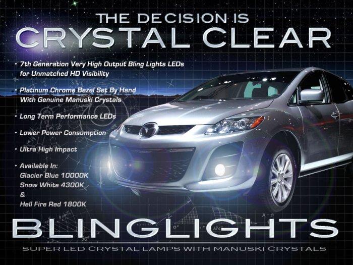 2010 2011 2012 Mazda CX-7 CX7 LED Driving Lights Lamps Drivinglights Kit