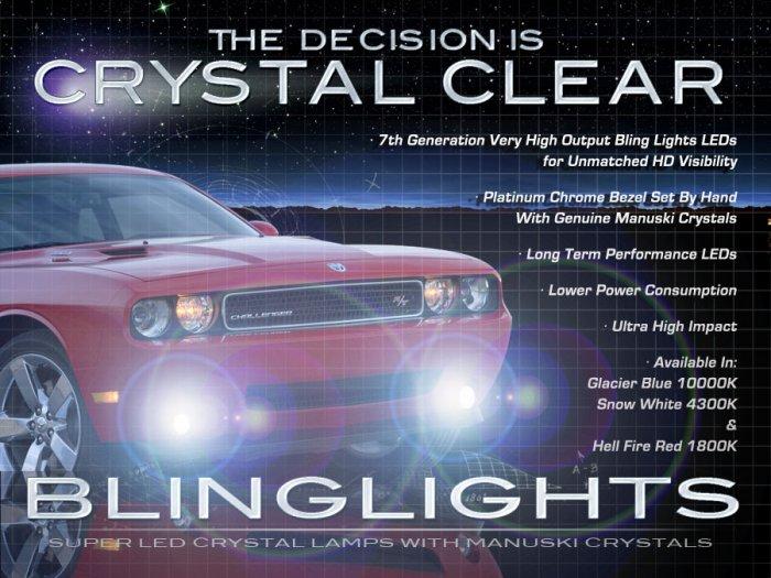 2008-2014 Dodge Challenger LED Foglamps Drivinglights Kit