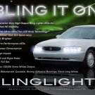 Buick Century DRLs Day Time Running Head Lamps Lights 1997 1998 1999 2000 2001 2002 2003 2004 2005
