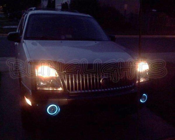 2002 2003 2004 2005 Mercury Mountaineer Halo Fog Lamps Lights