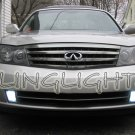 2003 2004 Infiniti M45 Bright White Bulbs for Fog Lamps Driving Lights Foglamps Foglights