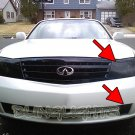 2003 2004 Infiniti M45 Tint Protection Film for Smoked Headlamps Headlights Head Lamps Lights