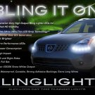 Nissan Rogue LED DRL Head Light Strips Day Time Running Lamps Kit