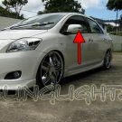 Toyota Yaris LED Side Mirrors Turnsignals Lights Turn Signals Lamps Mirror Signalers
