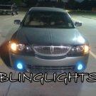 2004 2005 2006 Lincoln LS & LSE Xenon LED Fog Lamps Bumper Driving Lights foglamps foglight kit