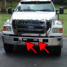 2000-2010 Ford F-650 Xenon Foglamps Foglights Fog Lamps Driving Lights F650 Heavy Duty Truck