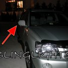 2000 2001 2002 2003 2004 2005 2006 2007 Toyota Kluger LEDs Mirrors Turnsignals Turn Signals Lights