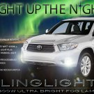 2008 2009 2010 Toyota Kluger Fog Lights Driving Lamps Kit