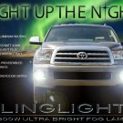 2008-2016 Toyota Sequoia Bumper Driving Lights Fog Lamps Kit