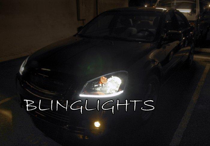 2002 2003 2004 2005 2006 Nissan Altima LED Strip Lights Headlamps Headlights Head Lamps Light Strips