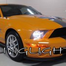 Ford Mustang Bright White Light Bulbs for Headlamps Headlights Head Lamps Lamp Lights