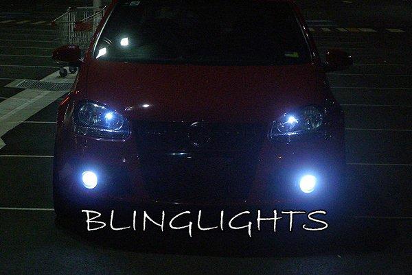 2006 2007 2008 2009 Volkswagen VW Golf Rabbit Mk5 LED Bulbs for Foglamps Foglights Fog Lamps Lights