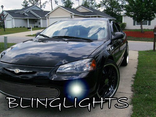 2001 2002 2003 Chrysler Sebring Convertible Blue LED Fog ...