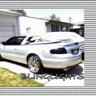 2001 2002 2003 2004 2005 2006 Chrysler Convertible Tint Protection Film for Smoked Taillights