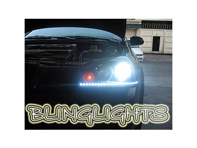 Daewoo Lacetti LED DRL Head Lamp Light Strips Day Time Running Kit