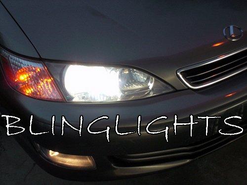1997 1998 1999 2000 2001 Lexus ES300 Low Beam White Halogen Headlights Head Light Bulbs
