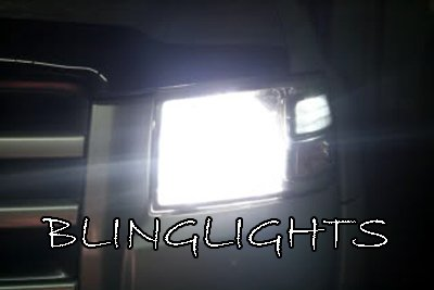 1993-2011 Ford Range Bright White Bulbs for Headlamps Headlights Head Lamps Lights
