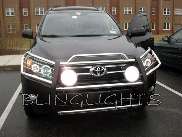 Toyota Rav4 Off Road Driving Lights Auxilliary Bar Lamps Kit