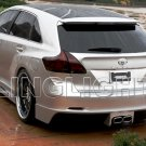 2009 2010 2011 2012 Toyota Venza Tinted Smoked Protection Overlays Film for Taillamps Taillights