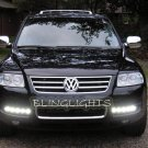 Volkswagen VW Touareg LED DRL Strips Day Time Running Lamps Lights for Headlamps Headlights