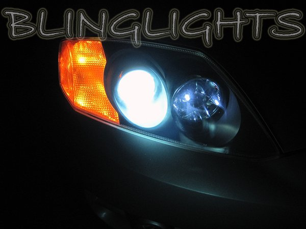 1997-2008 Hyundai Tiburon Coupe / Tuscani White Bulbs for Headlamps Headlights Head Lamps Lights