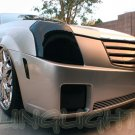 Cadillac CTS Smoked Headlamp Overlays Murdered Out Light Covers