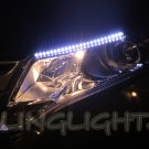 2009 2010 2011 2012 Toyota Venza LED DRL Light Strips Headlamps Headlights Day Time Running Lamps