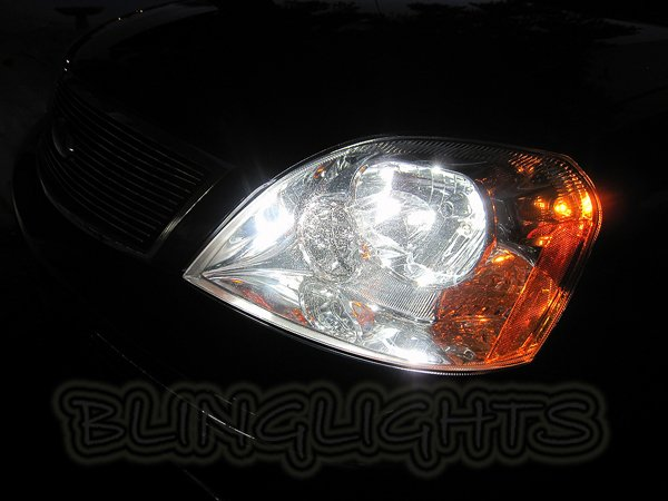 2005 2006 2007 Mercury Montego Bright White Bulbs for Headlamps Headlights Head Lamps Lights