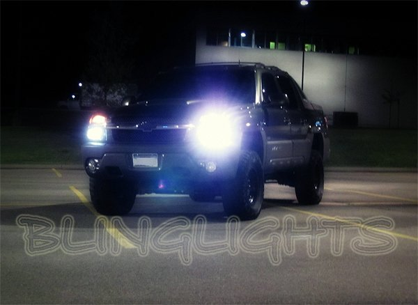 Chevrolet Chevy Avalanche VHO 55w Xenon HID Headlamps Headlights Head Lamps Lights Conversion Kit