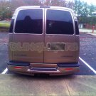 GMC Savana Smoked Tinted Taillamps Taillights Tail Lamps Lights Tint Film Protection Overlays