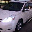 2006-2010 Toyota Sienna Bright Head Lamp Light Bulbs Replacement White Upgrade Set Pair