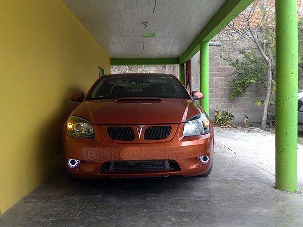 2005 2006 2007 2008 2009 2010 Pontiac G5 Halo Angel Eye Foglamps Foglights Driving Fog Lamps Lights