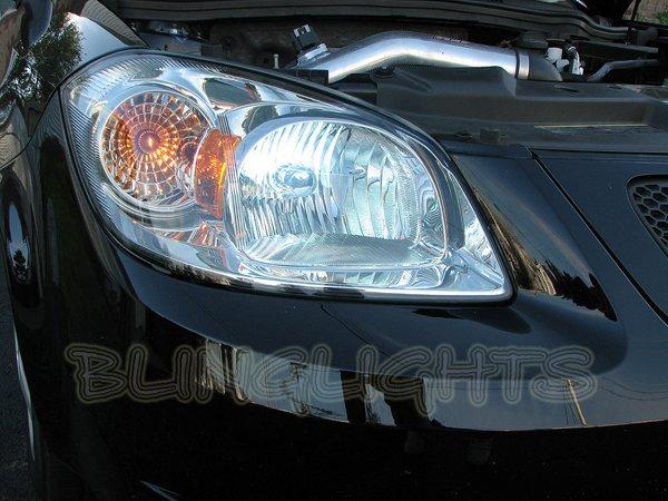 2005-2010 Pontiac G5 Bright White Light Bulbs for Headlamps Headlights Head Lamps Lights