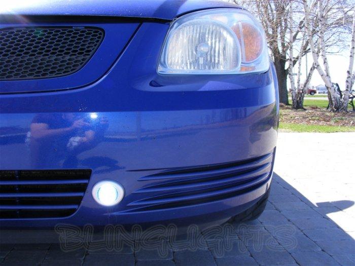 2005 2006 2007 2008 2009 2010 Chevy Cobalt LED Foglamps Foglights Driving Fog Lamps Lights Kit