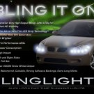 Pontiac G5 LED DRL Strips for Headlamps Headlights Head Lamps Day Time Running Lights