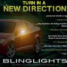 2005 2006 2007 2008 2009 2010 Pontiac G5 Side Mirror LED Turnsignals Turn Signals Lights Signalers