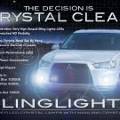 2010 2011 2012 Mitsubishi Outlander LED Foglamps Foglights Fog Lamps Driving Lights Kit