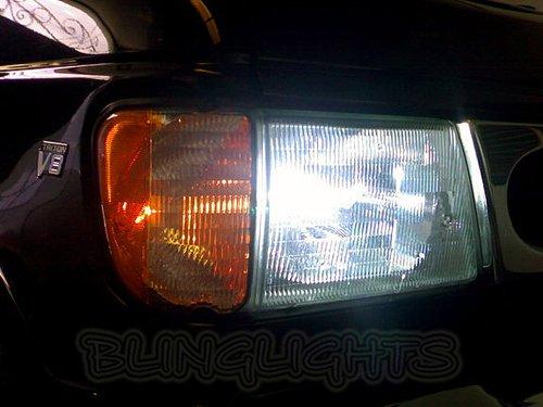 Ford E-450 E450 E-550 E550 White Lights Bulbs for Headlamps Headlights Head Lamps Lights