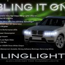 BMW X3 e83 f25 LED DRL Light Strips Headlamps Headlights Head Lights Day Time Running Lamps