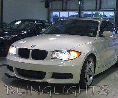 BMW 1 Series E81 E82 E87 E88 F20 White Low Beam Light Bulbs Headlamps Headlights Head Lamps Lights