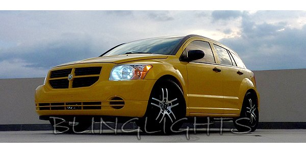 2006-2011 Dodge Caliber White Light Bulbs for Headlamps Headlights Head Lamps Lights